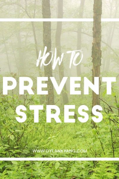 How To Prevent Stress