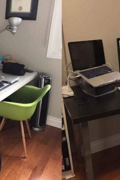 My Bedroom Makeover – Part 2: The Desk Setup