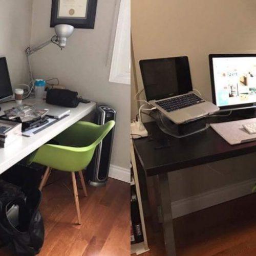 My Bedroom Makeover – Part 2: The Desk Setup