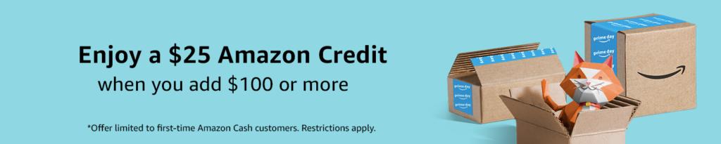 Amazon Prime Week $25 Credit