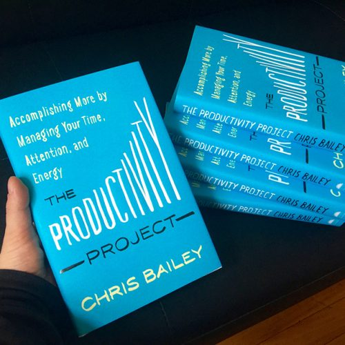Book Review – The Productivity Project by Chris Bailey